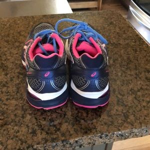 Asics Shoes - Asics SO5A gel flux 3- navy and pink